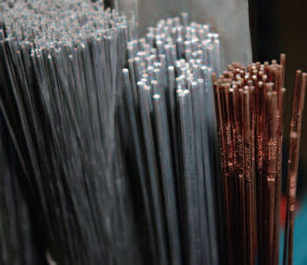 Pick your welding rods by type and diameter, according to the type of welding you plan to perform.