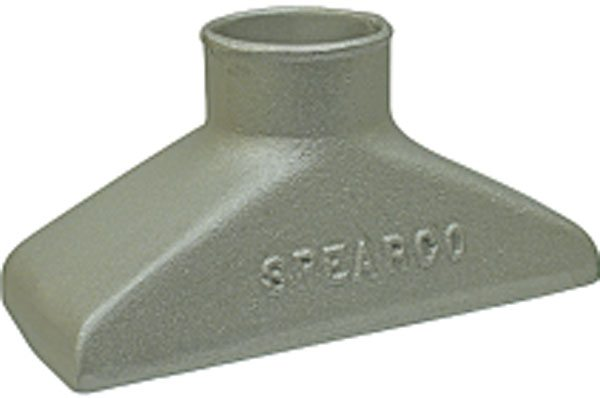 Spearco's large end inlet cooler manifold. (Courtesy Turbonetics)