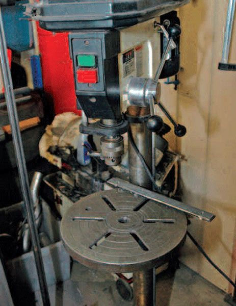 You will find your life is much easier if you get a large free-standing drill press. Bench-mounted units are also useful.