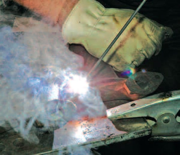 Stick welding is a low-cost way to get started in arc welding. Although the falling cost of wire-feed and MIG units is rapidly overtaking stick for automotive applications.
