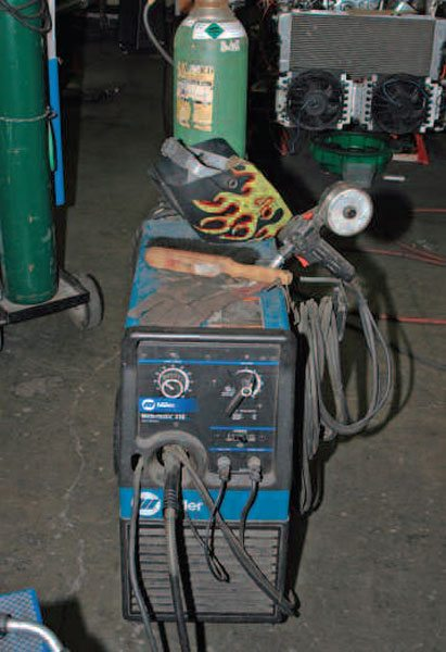 A good MIG welder like this Miller can be had on the used market for a few hundred dollars. It's easy to use and will help your projects come out better.