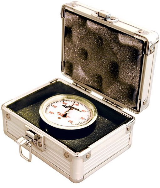An air density gauge can help you when recording runs in your log book.