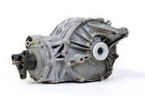 The Cadillac CTS axle housing is cast aluminum and not only has a side cover but also a pinion cartridge arrangement. The side-cover arrangement and combination of the pinion cartridge make this a unique axle arrangement to service, as most axles are not assembled in this fashion.