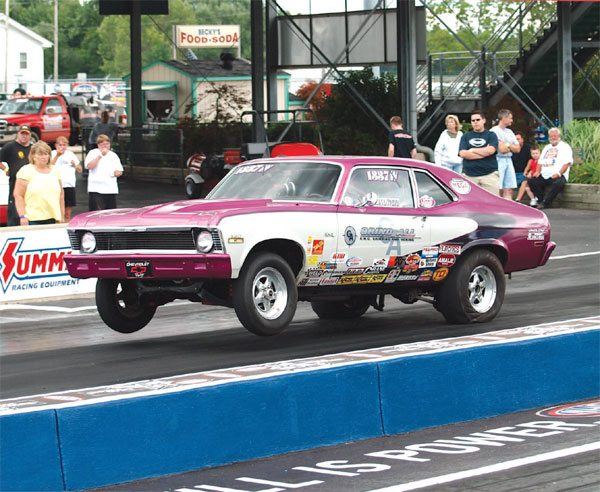 Drag Racing Traction: Front Suspension: Double A-Arm