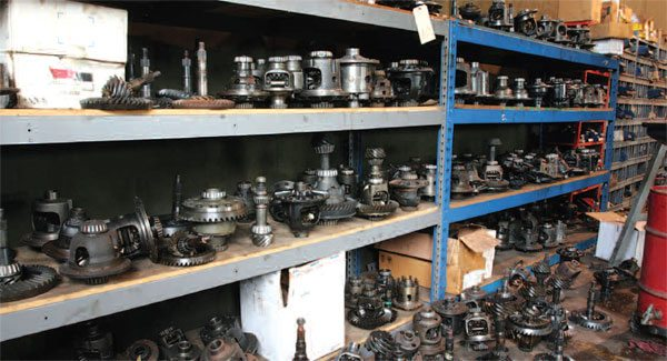 This selection of used parts helps keep stock vehicles in good repair. Some of these parts are actually take-off parts with less than 1,000 miles on them.