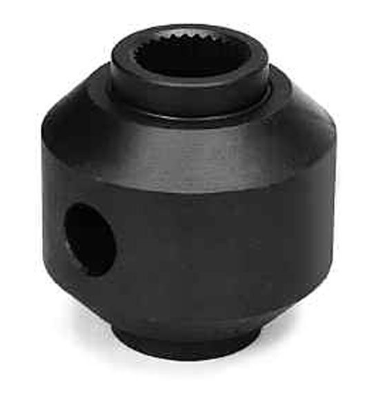 The one-piece-style mini-spool is designed for differential cases that are split like those found on the Ford 9-inch. This replaces all of the internal gearing of the open differential. (Auburn Gear)