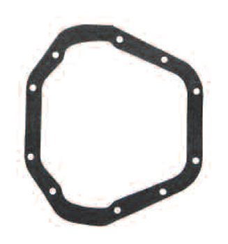 This is a typical gasket for the Dana 60 rear cover. It has 10 holes and is just over 12 inches in diameter. (Randall Shafer/Joe Palazzolo)