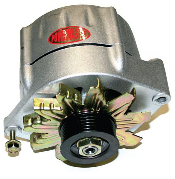 Switching from a 12-volt battery to a 16-volt battery also requires a 16-volt alternator like this one from Powermaster.