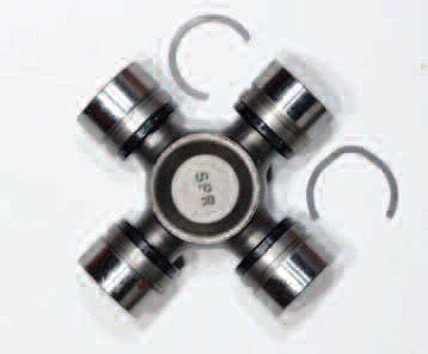 Snap rings are installed on the outside diameter of the bearing caps to retain them. Grooves are machined into the bearing caps where the rings are installed. Both of these ring styles serve the same purpose.