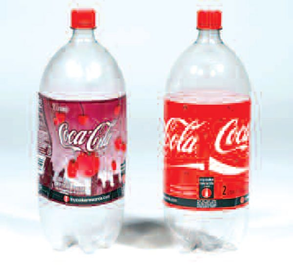 7)No, this is not a test of Cherry versus regular Coke. Notice how the unvented Cherry Coke bottle (left) has sucked in or collapsed on itself. The internal trapped volume of air has decreased and caused the bottle to contract as your axle housing would, if it had not been vented. If the bottle were vented to the atmosphere, this contraction would not occur.