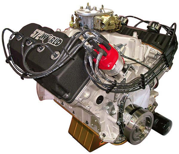 Robust ignition systems are essential for engines to deliver maximum horse¬power. Components include a precision calibrated distributor, top-quality wires, and spark plug boots all driven by a powerful coil and amplifier.
