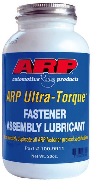 Consistency is the key to torquing rod bolts. Stretch¬ing them to the proper spec is strongly influ¬enced by the lubricant used. Some builders still use plain engine oil, but most use lubricants like ARP's Ultra-Torque, which is specially formulated to provide consistent load¬ing and accurate stretch.