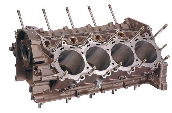 Chevrolet Sprint Cup R07 block. (Courtesy General Motors)