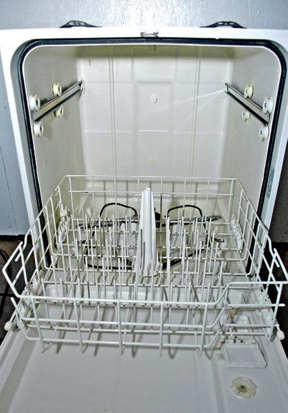 . A common dishwasher sourced from craigslist or ReStore makes a great home parts washer. The same rule applies: Be careful not to let hazardous chemicals drain into the sewer system.