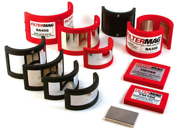 All race engines should incor¬porate a Fil¬termag as part of their overall oiling strategy. The Filtermag prevents con¬tamination of the oil supply by trapping all metal particles inside the filter canister.