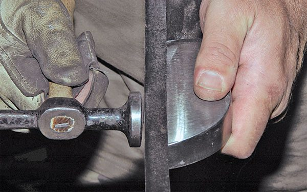 A good technique to learn is hammer welding; this is simply hammering down the welding bead while it is still hot and malleable. It reduces the amount of grinding required.