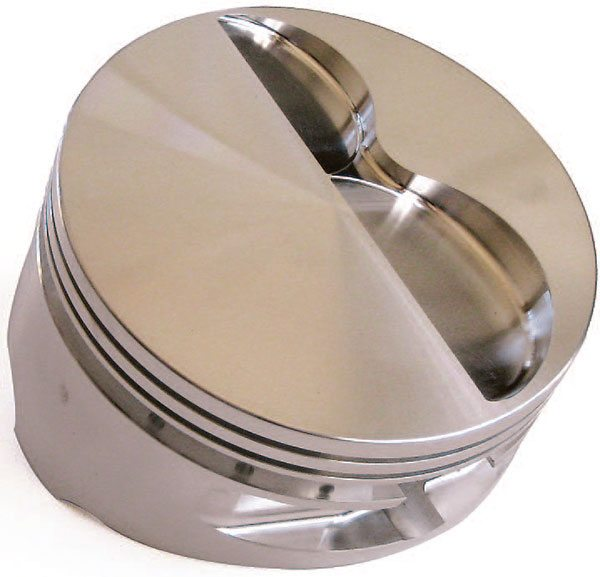 With the advent of shallower combus¬tion chambers, flat-top pistons are often a favored choice among engine builders seeking higher compression ratios and optimum flame travel.