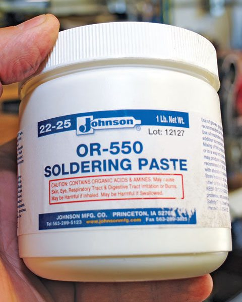 Solder paste is a flux that helps the tin alloy stick to the surrounding metal when you melt the solder in place. It's a good idea to use it every time.