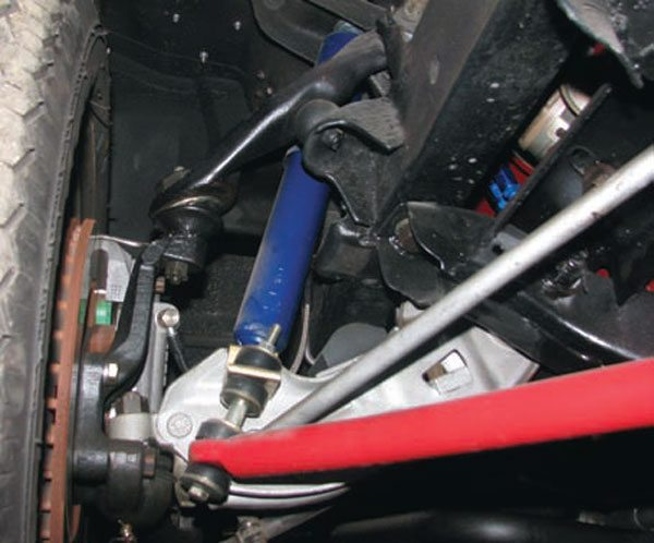 Some muscle cars, like this Mopar A-body, didn't come with any sway bars. The aftermarket sway bar came with supplementary mounts. Check these out before you buy, as the bracketry can be as important as the bar. If it's weak or has poor geometry, the bar can't do its job properly.(Photo Courtesy Ray Campbell)