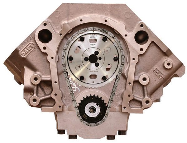 Comp's fully adjustable billet timing sets feature multiple adjustment keyway crank sprockets and 2-degree incre¬mental adjustment of the cam sprocket for up to plus-or-minus 6 degrees from TDC. These cam drives represent top-of-the-line chain drive systems for race engine applications.