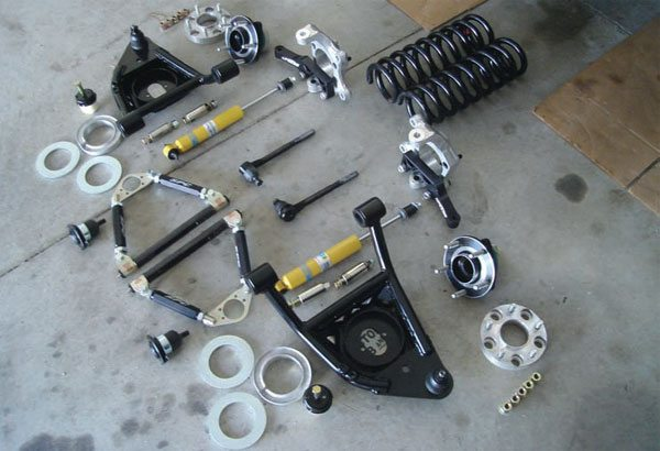 Muscle Car Handling Upgrades: Front Suspension System