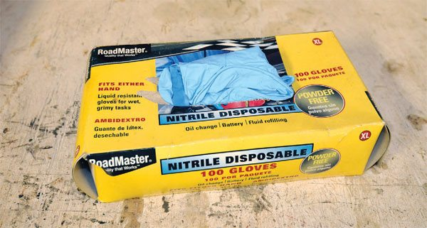Nitrile gloves are different from latex or other shop/surgical gloves because they are more resistant to more chemicals.