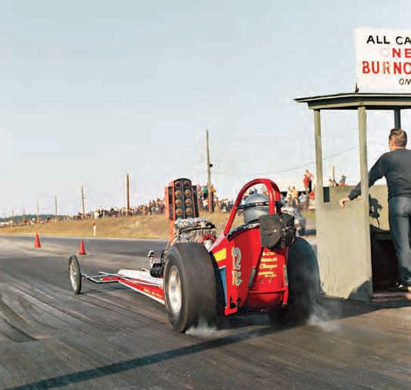 Drag racing was huge in the Northeast, but the farther north you went, the less active the drag strips were due to the long, harsh winters. A variety of drag strips had wintertime drags, but the majority of racing took place from April to October. (Photo by T. O'Shea, Courtesy www. doverdragstrip.com)