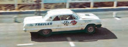 Chevrolet dominated the early days of Super Stock with its famed W engines. First, it came out with the 348 and then the 409-ci engine, but big news surrounded the debut of its Z-11 Impala in 1963. The Z-11 cars had a stroked 409- to 427-ci engine, all-aluminum front sheet metal, and other go-fast weight-saving options such as heater and radio delete. (Photo Courtesy Ronnie Evans)