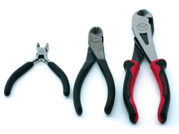 Diagonal cutters are available in numerous sizes from nearly every tool company on the planet. I reach for the size in the middle most, but the other two certainly have their place.