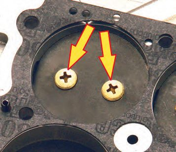 The simple job of aero forming the screw heads into a dome can result in an increase of up to 6-cfm.