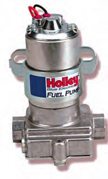 This is Holley's blue-top highoutput pump. It has been favored by enthusiasts for probably 30 years. About 90 percent of engines I build make use of this versatile and cost-effective pump.