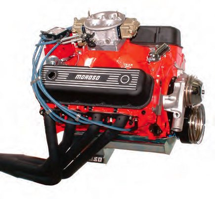 The 1050 Dominator on this low-buck street Chevy bigblock 482 was ordered from Holley based on the engine spec. It required minimal jetting to make 650 hp and 636 ft-lbs.