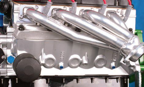 Many ceramic finishes can be easily applied to off-the-shelf headers. As a result, headers can easily coordinate with custom engine colors and finishes.