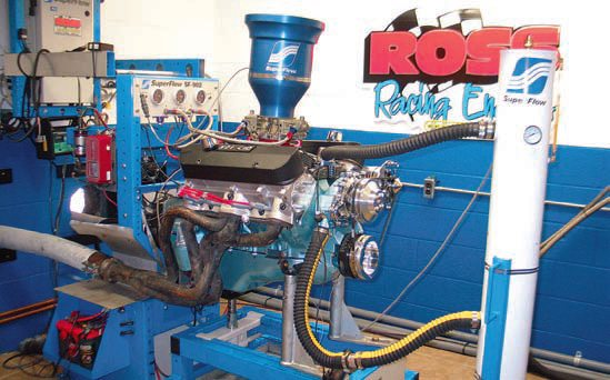 When running a fresh engine on a dyno, avoid using the headers that will be installed in the vehicle. Dyno sessions, especially on a new engine, result in high exhaust temperatures, which can easily discolor new headers. A good dyno shop has headers on hand specifically for dyno runs. Don't sacrifice your new headers for a dyno session. If the dyno shop doesn't have headers on hand for your engine, buy or borrow a used set.