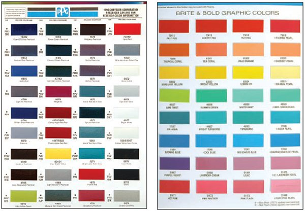 43+ Automotive Paint Colors Pictures