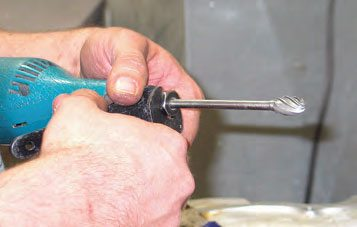 When cutting aluminum, be sure to use a cutter with large flutes designed for aluminum.