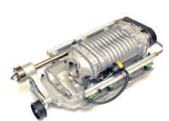 Mounting a modern high-efficiency unit, such as this Magnacharger, on an intercooled base/intake manifold, leads to higher power on otherwise lower-octane fuel.