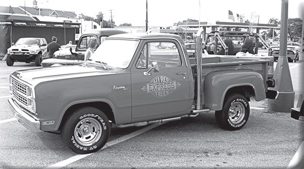 The Li'l Red Express was Dodge's second factory performance pickup truck offering. What came fi rst?