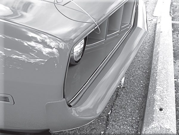 Elastomeric bumpers were not the same as regular chrome bumpers. What made them so different?