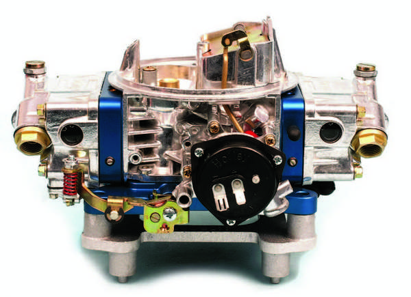 The Ultra Series 4150 carbs are offered in either mechanical- or electric-choke versions. The Ultra HP series eliminates the choke provision.