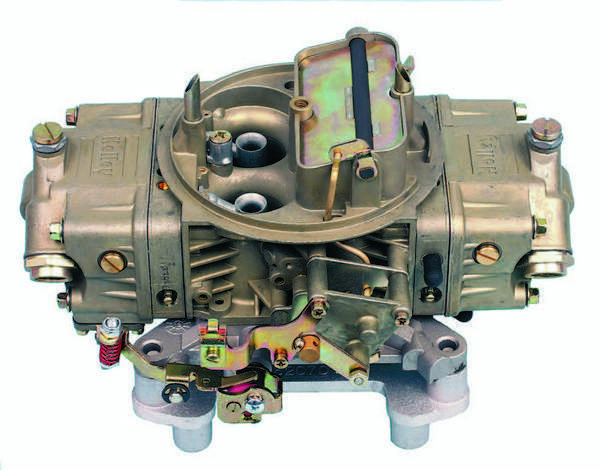 Double-pumper, mechanical-secondary carbs, such as this 750-cfm carb (PN 4779), are suitable for either street or competition. Because the secondaries are mechanically operated, the driver can control when and how far the secondaries open.