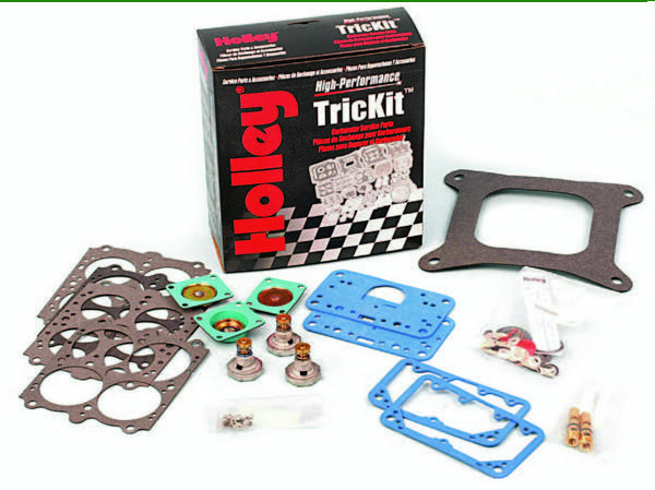 """Holley offers a rebuild kit (referred to as a """"renew"""" kit) for every model of carburetor that they make. The kits include everything needed to make your Holley carb fresh following a disassembly. Avoid non-Holley brand kits, as they might not include everything, and may not have the same quality of components. This is a renewal kit (PN 37-485) applicable to 4150 carbs in 600, 650, 700, 750, 800, and 850 cfm."""