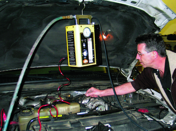 You can use a smoke machine to locate any number of mystery vacuum leaks.